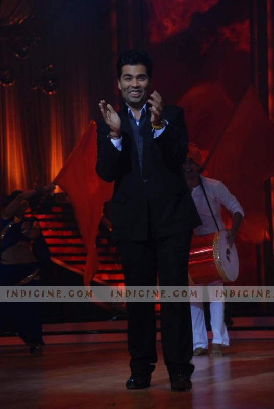 Karan Johar at Jhalak Dikhla Jaa launch
