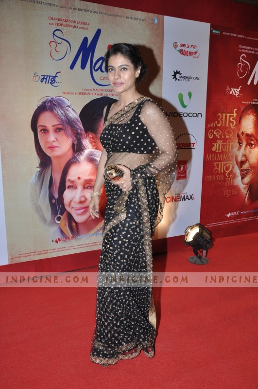 Kajol at Mai Premiere