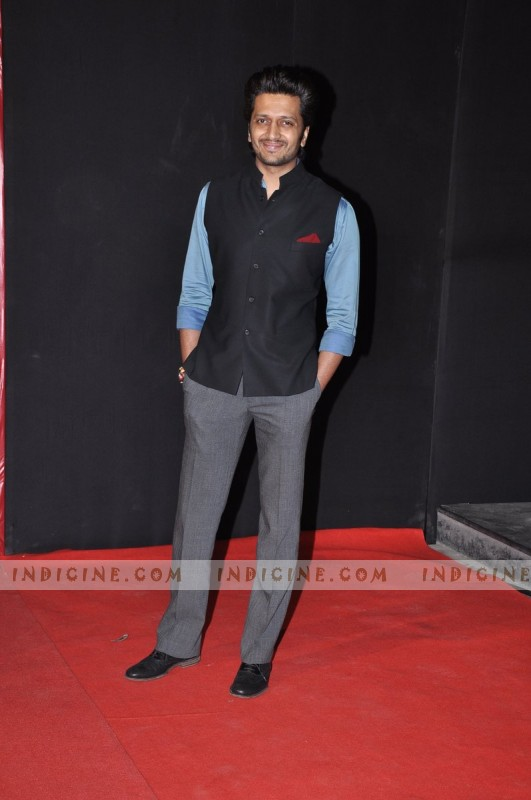 Ritesh Deshmukh at Mai Premiere