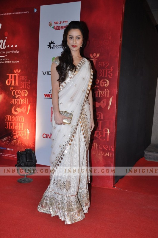 Shraddha Kapoor at Mai Premiere