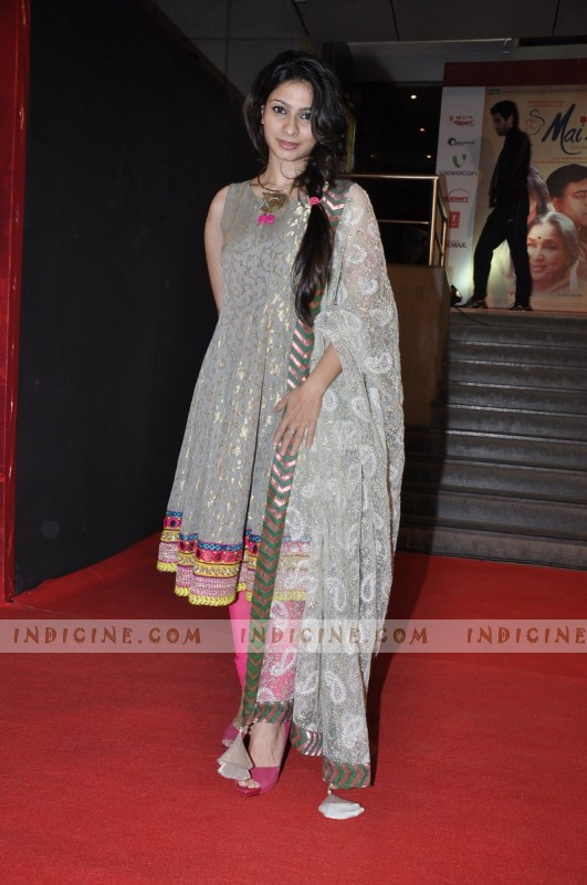 Tanisha Mukherjee at Mai Premiere