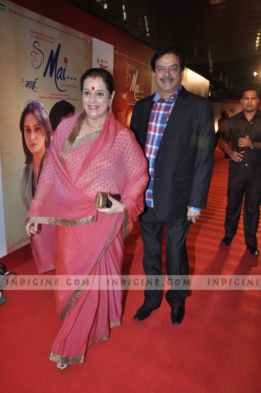 Poonam Sinha with husband Shatrughan Sinha