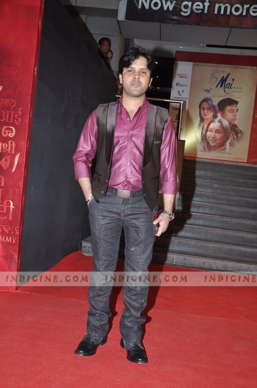 Javed Ali at Mai Premiere