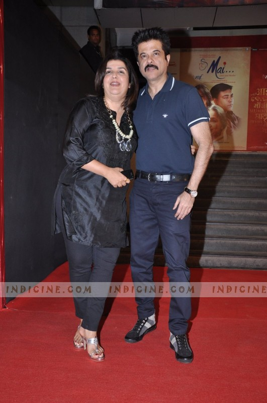 Farah Khan with Anil Kapoor