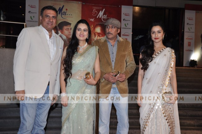 Boman Irani, Padmini Kolhapure, Jackie Shroff and Shraddha Kapoor
