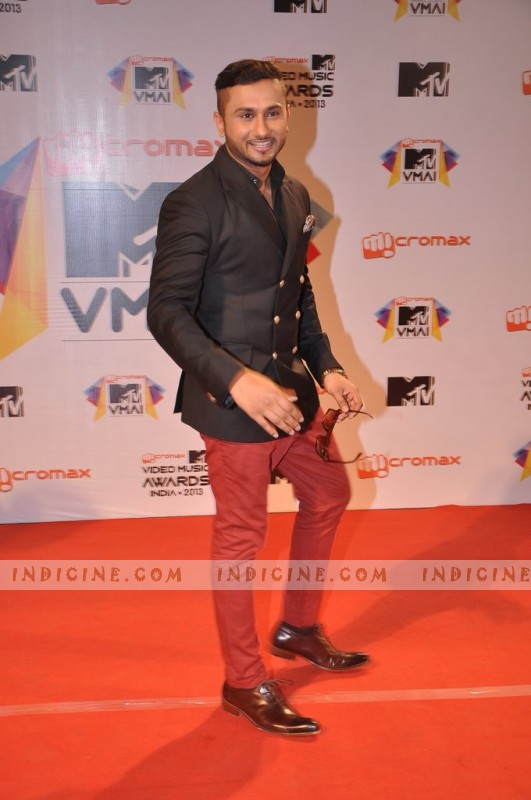 Yo Yo Honey Singh at MTV Video Music Awards India 2013