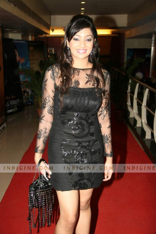 Twinkle Patel at Muskurake Dekh Zarafilm premiere