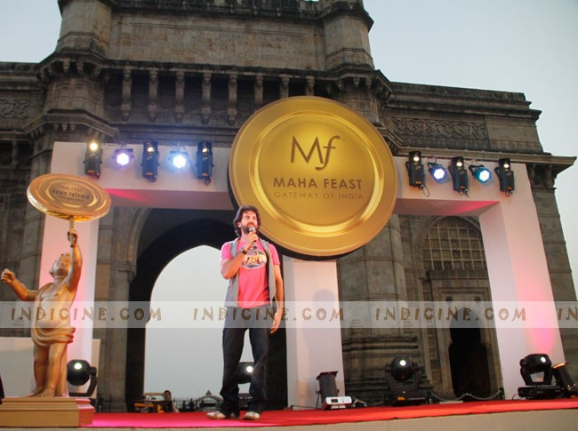 Neil Nitin Mukesh at Biggest Outdoor Food Festival Maha Feast