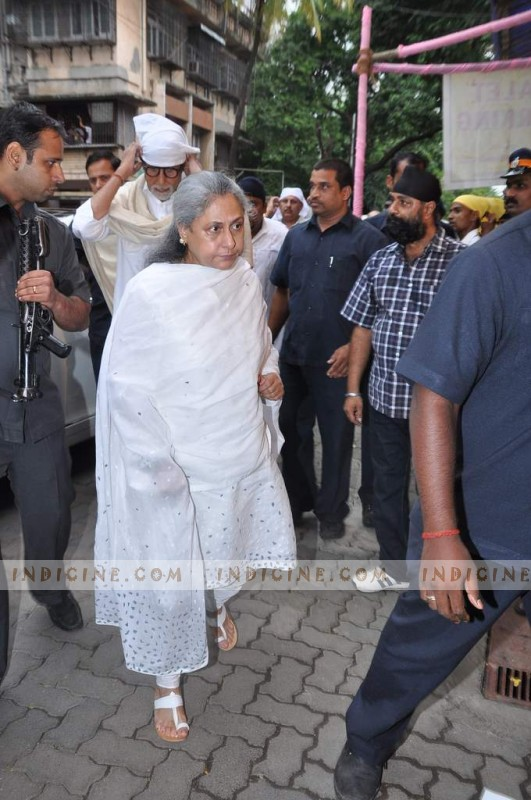 Amitabh Bachchan with wife Jaya Bachchan