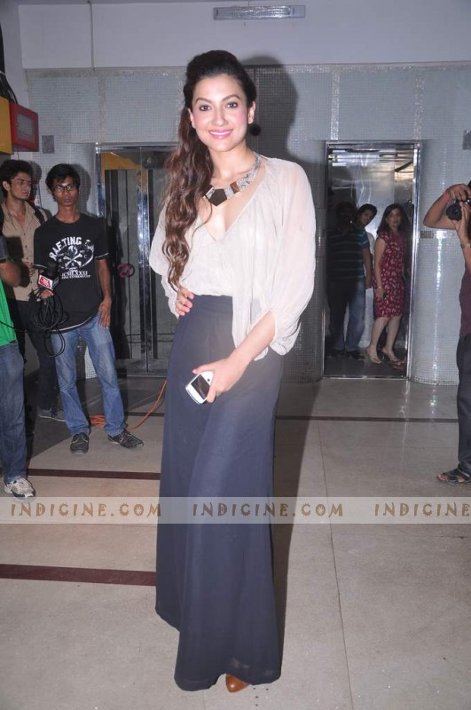 Gauhar Khan at Ishaqzaade success bash