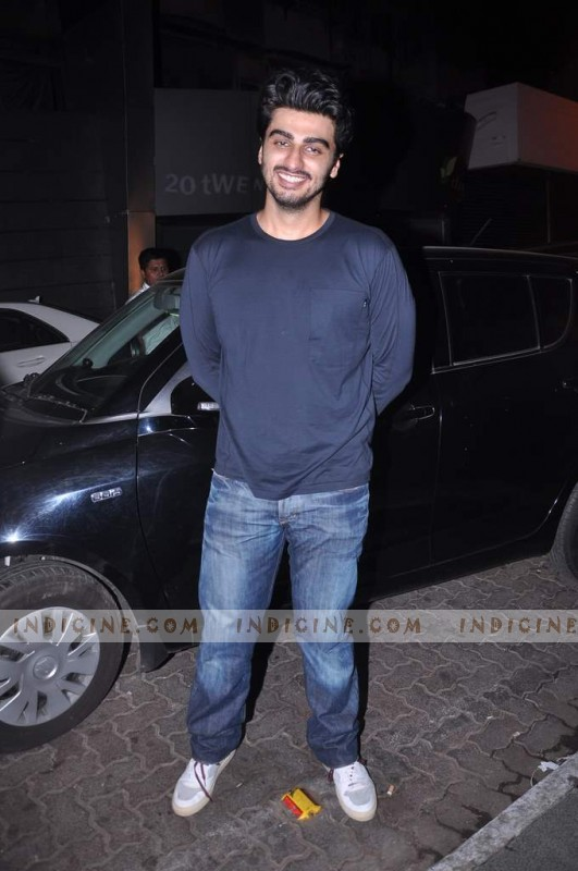 Arjun Kapoor at Ishaqzaade success bash