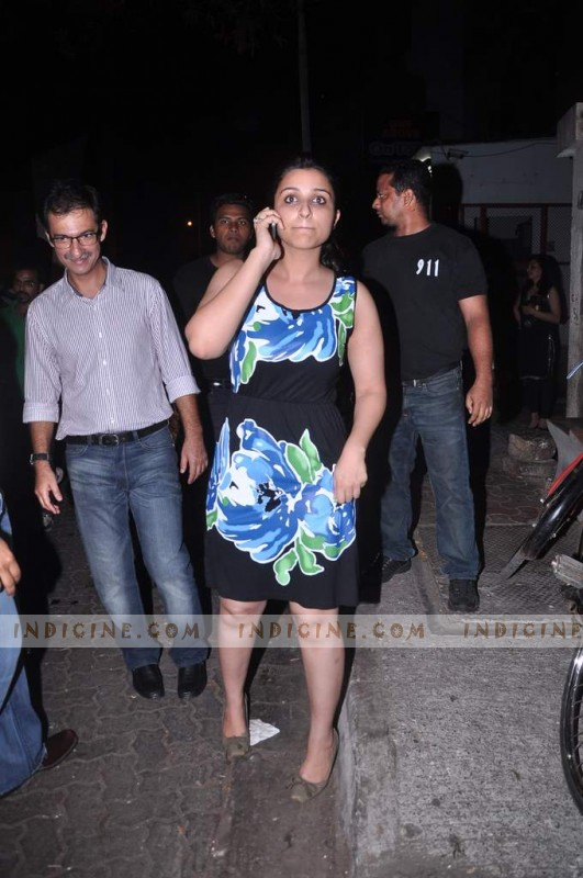 Parineeti Chopra at Ishaqzaade success bash