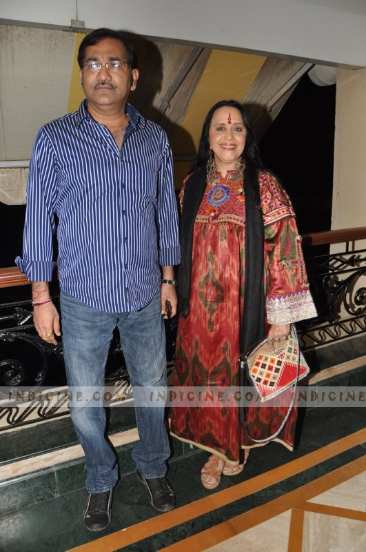 Sudesh Bhosle with Ila Arun