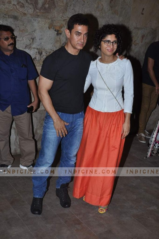 Aamir Khan, Juhi Chawla, QSQT team celebrate: Photos