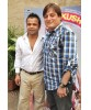 Rajpal Yadav - Manoj Joshi photo shoot to promote Kushti