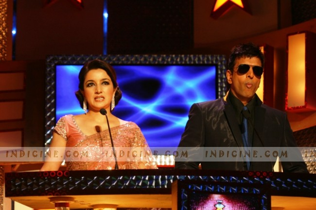 Star Cintaa Superstars Ka Jalwa First Episode host Tisca Chopra and Javed Jaffrey
