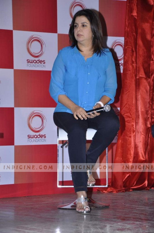 Farah Khan at Swades Foundation launch
