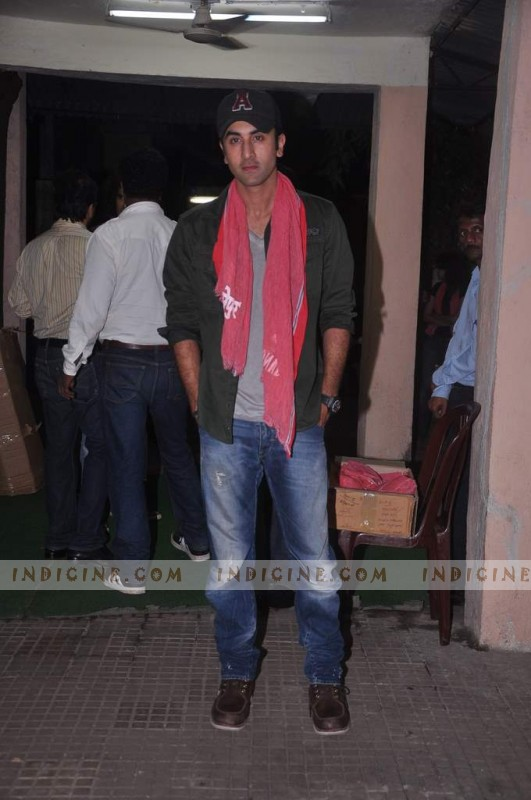 Ranbir Kapoor at Gangs of Wasseypur screening