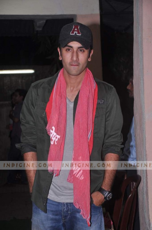 Ranbir at Gangs of Wasseypur screening