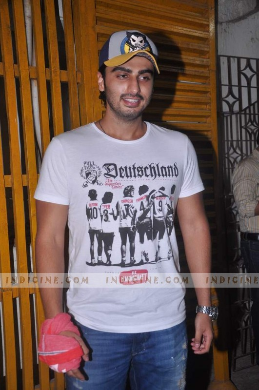 Arjun Kapoor at Gangs of Wasseypur screening