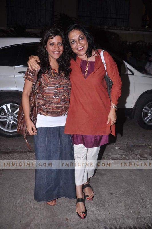 Zoya Akhtar at Gangs of Wasseypur screening