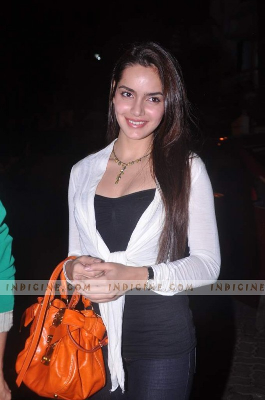 Shazahn Padamsee at Gangs of Wasseypur screening
