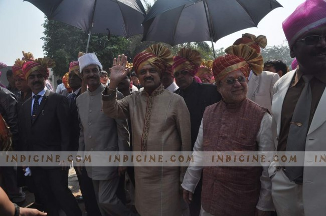 Vilasrao Deshmukh at Ritesh and Genelia's wedding