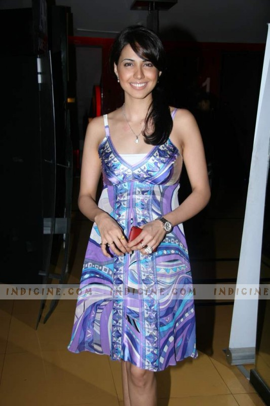 Nikita Anand at Ek Second Jo Zindagi Badal De screening