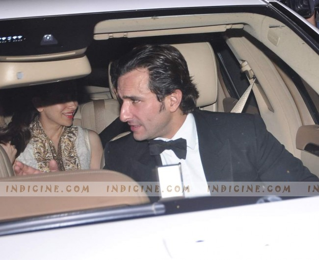 Saif Kareena wedding continues at Taj