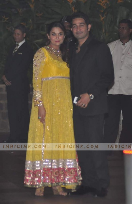 Amrita Arora with husband Shakeel Ladak