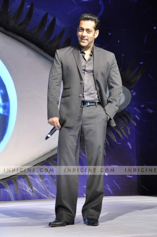 Salman Khan at Alag Che Bigg Boss 6 launch