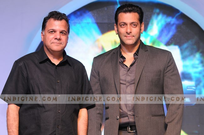 Raj Nayak with Salman Khan