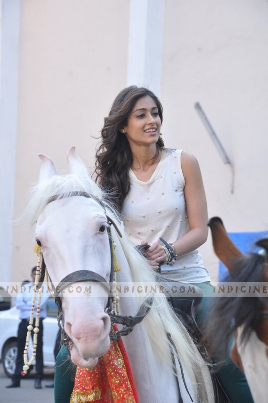 Ileana D'Cruz on sets of Phata Poster Nikla Hero