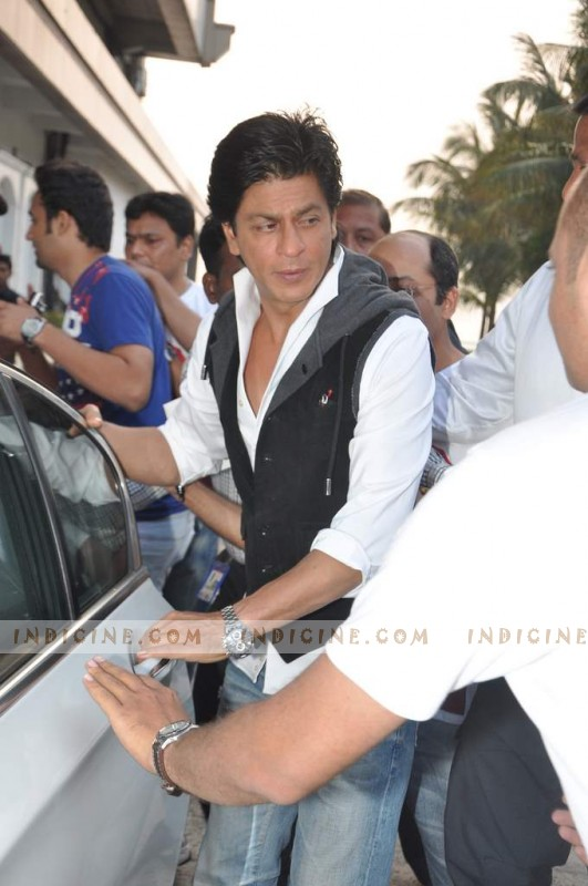 Shahrukh Khan at Taj Lands End