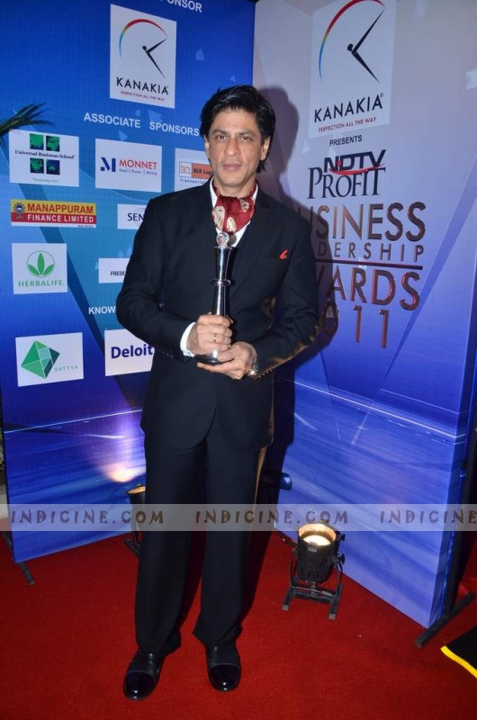 SRK NDTV Award