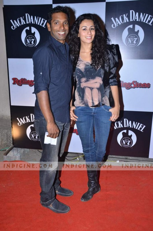 Pia Trivedi at Jack Daniel RollingStone Rock Awards