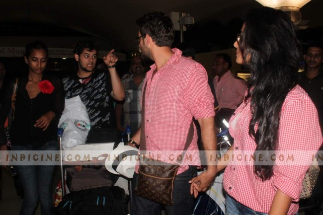 Neil with Sonal Chauhan