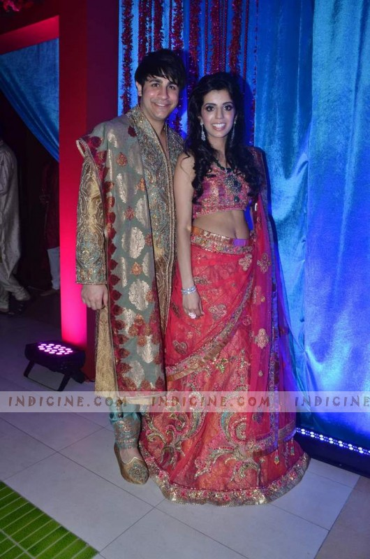 Dhiraj Wadhwani, Sheryl Buxani at Varun Panjwani and Michelle Buxani's wedding