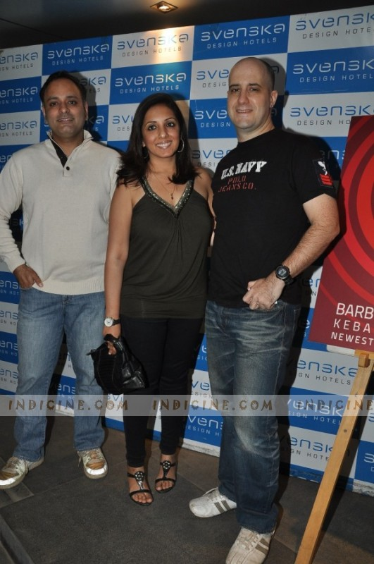 Prashant Sharma, Munisha Khatwani & Ashwin Mushran at Soul launch bash at Svenska Design Hotels