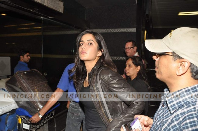 Katrina Kaif leaves for Muscat Valentine's Day show