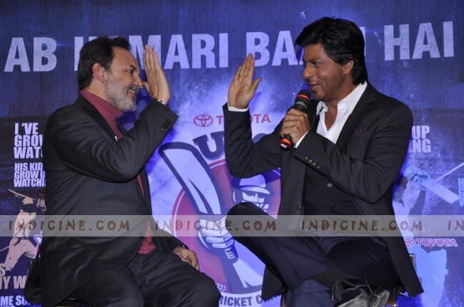 Shahrukh Khan with Prannoy Roy