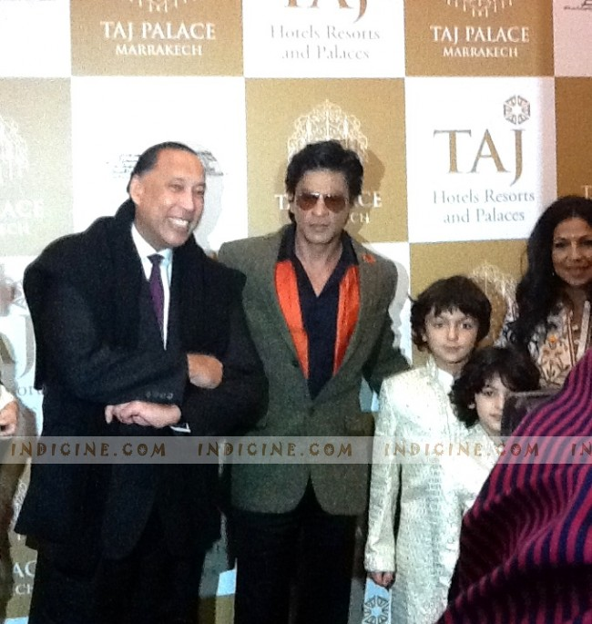 SRK at Marrakech Film Festival