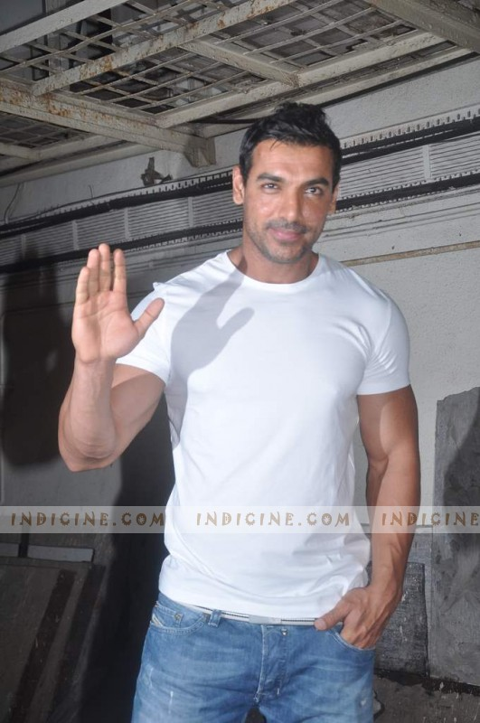 John Abraham at the special screening of Vicky Donor