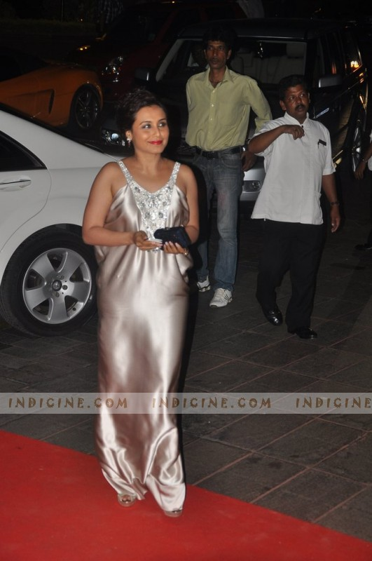 Rani Mukherjee at Karan Johar's birthday bash
