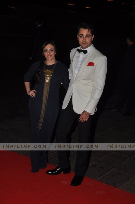 Imran Khan with wife Avantika Malik at Karan Johar's birthday bash