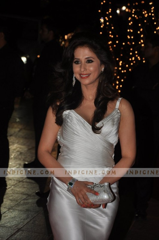 Urmila Matondkar at Karan Johar's 40th birthday bash