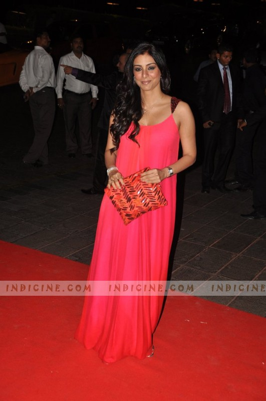 Tabu at Karan Johar's birthday bash