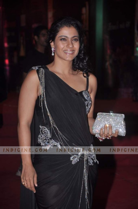 Kajol at Stardust Awards red carpet