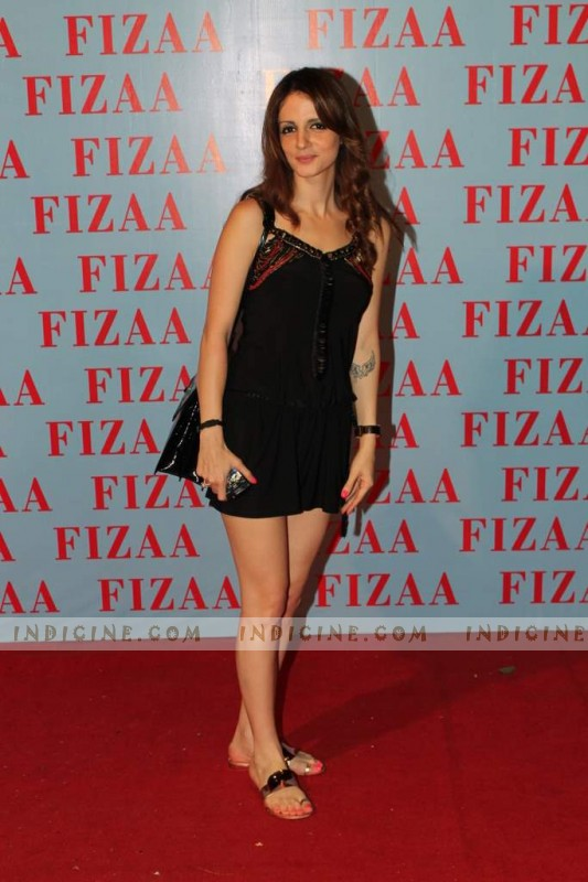 Sussanne Roshan at Zarine Khan's Fizaa store launch