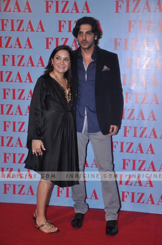 Mallaika Parekh Khan, Zayed Khan at Zarine Khan's Fizaa store launch